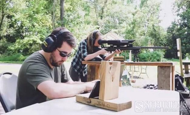 Des chercheurs en sécurité informatique pirate un fusil sniper connecté