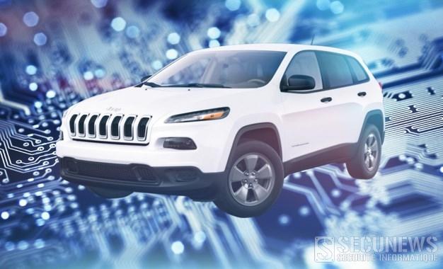 Deux hackers prennent le contrôle à distance d'une Jeep connectée
