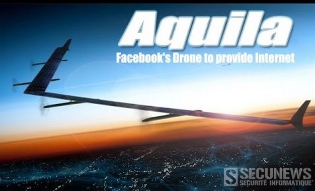 Facebook dévoile son drone solaire pour connecter l'ensemble de la planète à Internet