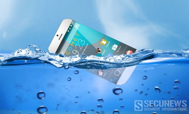 Comet, le premier smartphone capable de flotter sur l'eau