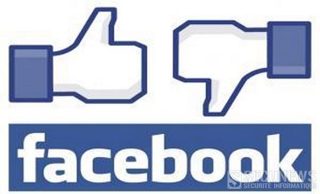 Facebook se prépare à tester un bouton 'je n'aime pas'