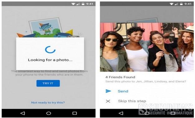 Facebook va scanner les visages dans les photos sur votre smartphone