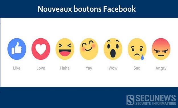 Facebook va lancer 6 emojis comme alternative au bouton j'aime
