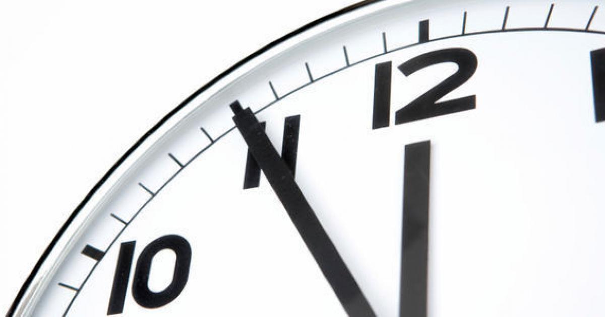 Changement d'heure: Passage à l'heure d'été ce 26 mars 2017!