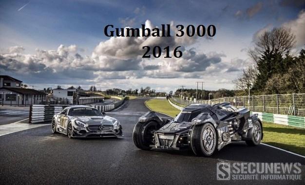 La Batmobile du Team Galag sur le Gumball 3000 de 2016