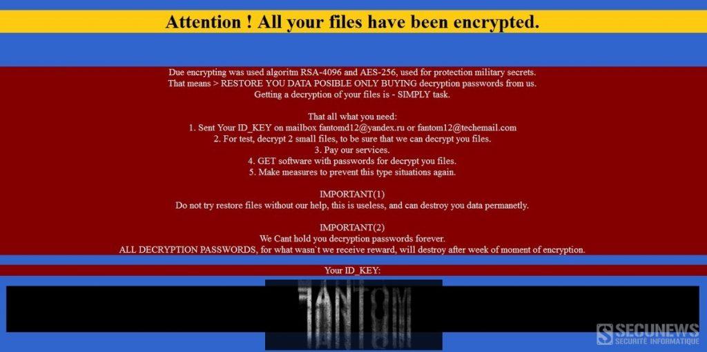 fantome-ransomware