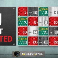 Europol lance un 'calendrier de l'avent' un peu spécial