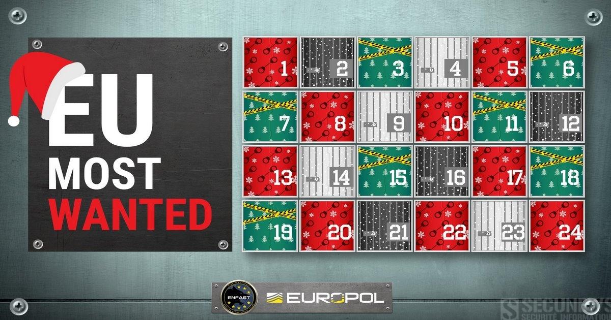 europol lance un 39 calendrier de l avent 39 un peu sp cial. Black Bedroom Furniture Sets. Home Design Ideas