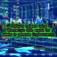 Après le ransomware Wannacry, voici le virus Adylkuzz