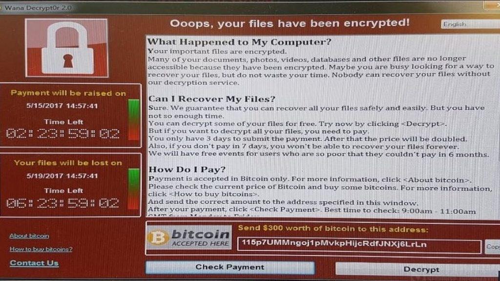 Une vaste cyberattaque par le ransomware 'Wanna Cry' frappe des pays du monde entier