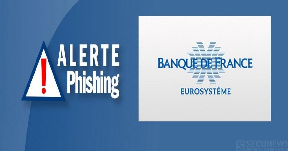 La Banque de France met en garde contre des tentatives d'escroquerie utilisant son logo