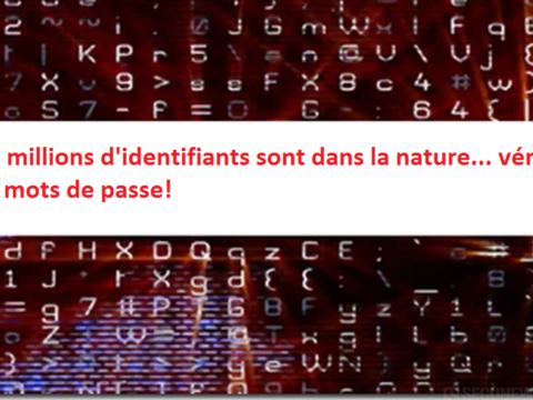 560 millions d'identifiants sont dans la nature… vérifiez vos mots de passe!