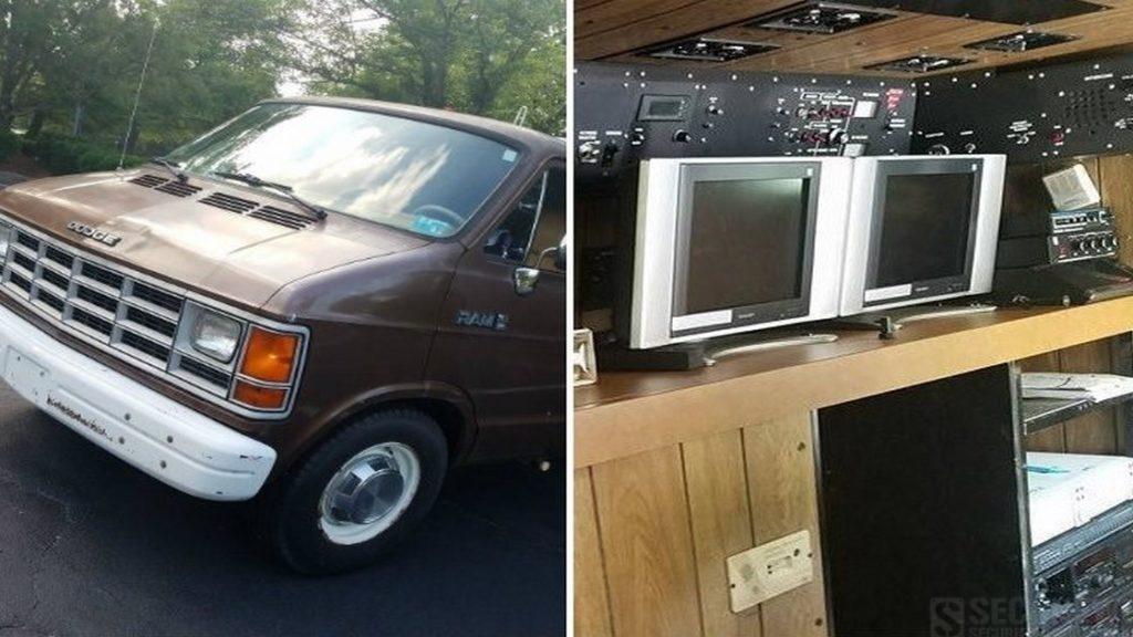 Un van de surveillance du FBI complétement équipé vendu sur Ebay