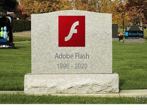 Sorti en 1996, la mort d'Adobe Flash Player est prévue pour 2020