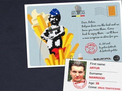 Europol traque les criminels les plus recherchés d'Europe avec des cartes postales