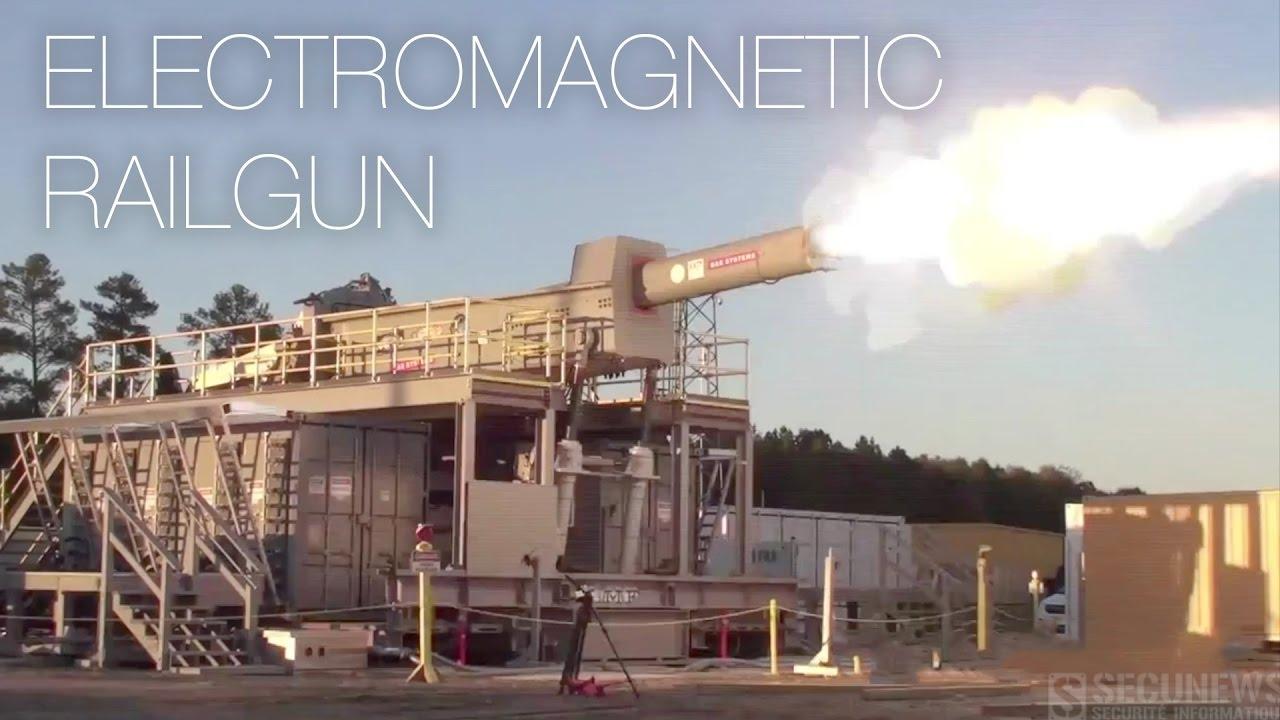 (vidéo) Le Railgun, du jeu vidéo à la réalité.