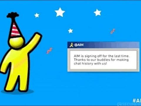 AIM, la messagerie instantanée d'AOL, fermera ses portes le 15 décembre 2017