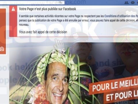 Facebook ferme la page de Firerank