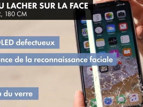 iPhone X: à la fois cher et fragile