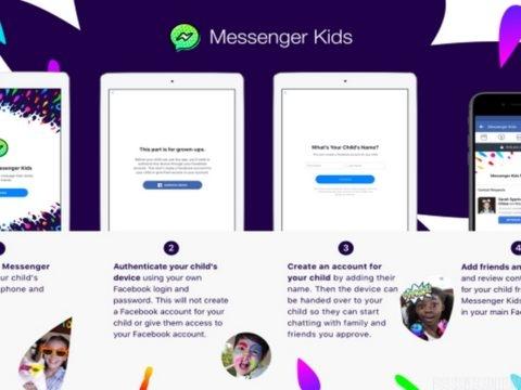 Facebook lance Messenger Kids, une messagerie destinée aux enfants de moins de 13 ans