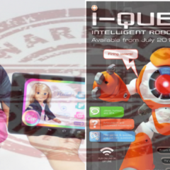 La Cnil accuse le robot 'I-QUE' et la poupée 'Cayla' d'atteinte grave à la vie privée des enfants