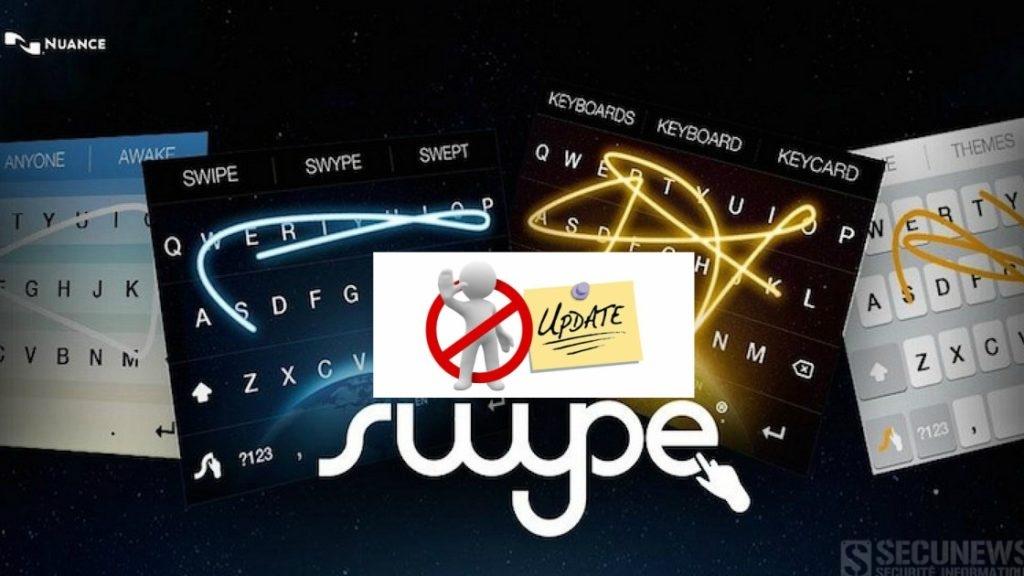Swype, le très populaire clavier sur Android, ne sera plus mis à jour
