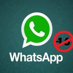 WhatsApp est désormais réservé aux plus de 16 ans