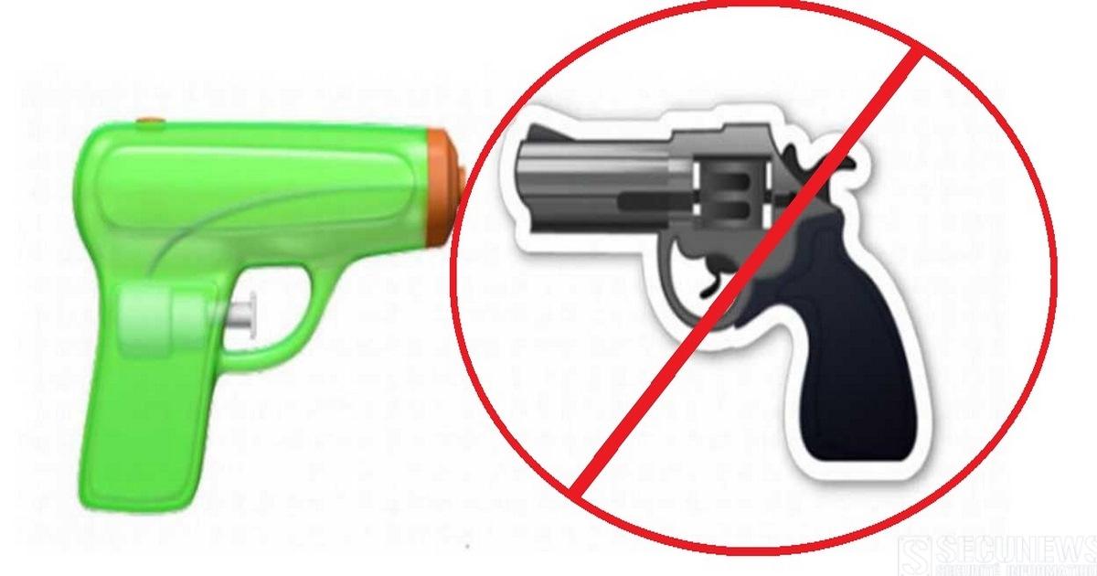 C'est la fin des armes à feu dans les émojis