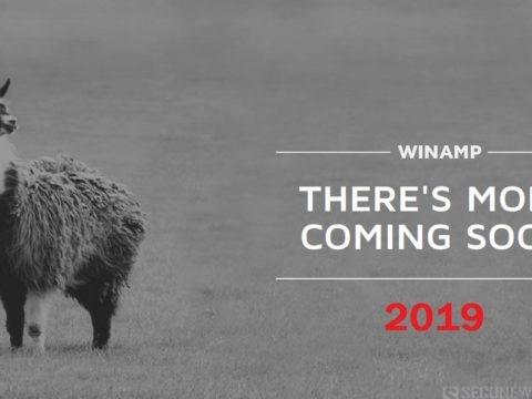 Le lecteur MP3 Winamp fera son grand retour en 2019