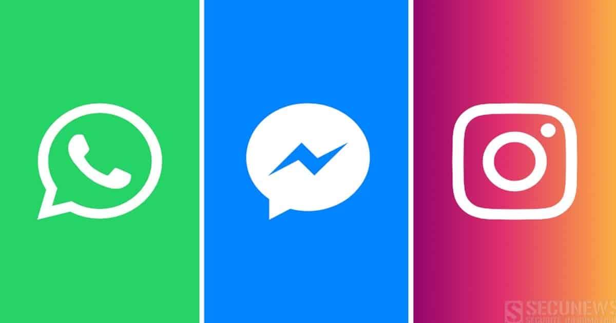 Facebook veut fusionner les messageries d'Instagram, WhatsApp et Messenger