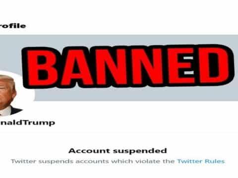 Twitter suspend définitivement le compte personnel de Donald Trump